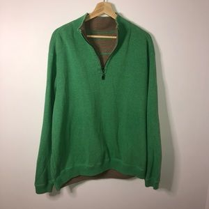 Tommy Bahama Green Quarter Zip